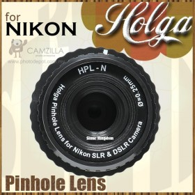Holga Lomo Lens for All Nikon DSLR Cameras - HL-N