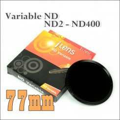 I-Lens 77mm ND2 to ND400 slim fader ND filter adjustable variable neutral density
