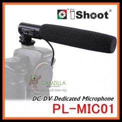 iShoot PL-MIC01 DC/DV DSLR Camera Dedicated Microphone Video Mic
