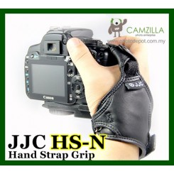 JJC Leather Hand Strap For Canon, Nikon, Pentax, Olympus and Samsung Fujifilm DSLR cameras.