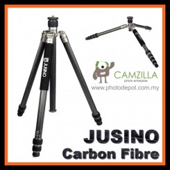 Jusino AX-253C (Carbon Fibre) Professional Traveller Series 3-Sections Tripod (Max Load 12kg)