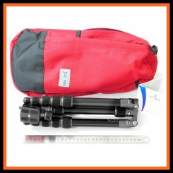 Jusino AX-225S Knight Black Ultra Compact Traveller Series 5-Sections Tripod + BS-08 Professional Ballhead (Max Load 5kg)