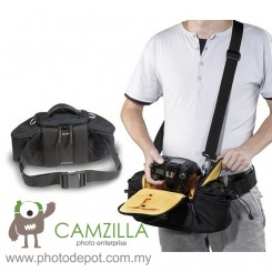 Kata Pro DSLR Camera Waist Pack Lens Flash Bag KT-DW-493