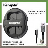 USED KINGMA DUAL CHARGER FOR NP-FZ100
