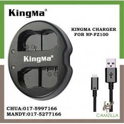 KINGMA DUAL CHARGER FOR NP-FZ100