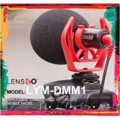 LENSGO LYM-DMM1 Compact On-Camera Video Microphone Youtube Vlogging Recording Mic