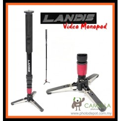 LANDIS V2 Professional Self Standing Video Monopod Free Bag