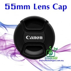 55mm Canon lens cover / lens cap