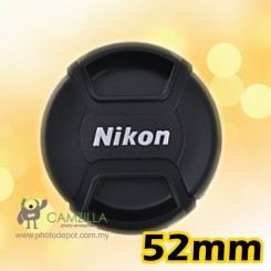 52mm Nikon lens cover / lens cap