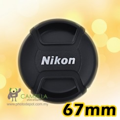 67mm Nikon lens cover / lens cap