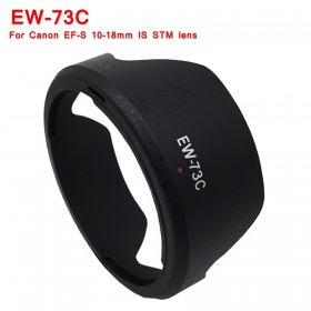 EW-73C Lens Hood for Canon EF 10-18mm F/4.5-5.6 IS STM LENS