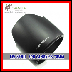 Lens Hood EW-83B II for Canon EF 28-70mm f/2.8 L IS USM