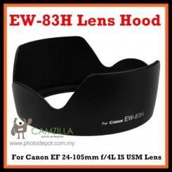 EW-83H Lens Hood for Canon EF 24-105mm f/4L IS USM Lens