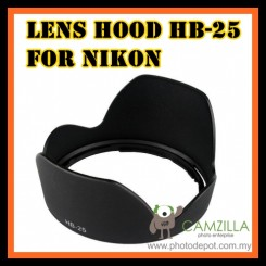 HB-25 HB25 Lens Hood For Nikon AF-S VR 24-120mm F3.5-5.6G ED IF AS