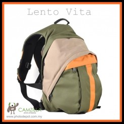 Lento Vita DSLR Camera Bag Backpack For Canon Nikon Sony Fujifilm Olympus