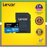 Lexar High-Performance microSDXC 633x 128GB Micro Sd