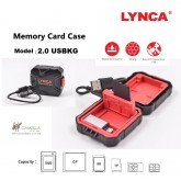 Lynca USBKG 2.0 Memory card reader & case