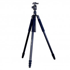 MANBILY AZ-380 PROFESSIONAL PHOTO ALUMINUM TRIPOD HEIGHT 2.6M, FOLDED MONOPOD W/ KF-0 BALL HEAD FOR CANON NIKON, MAX LOAD 15KG