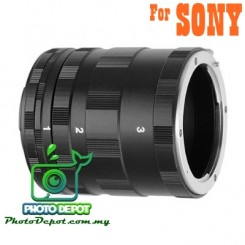 Macro Extension Tubes Ring for Sony Alpha
