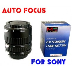 Meike AF Macro Extension Tubes for Sony Alpha