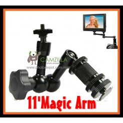 "Camzilla 11"" Articulating Magic Arm Hot shoe Mount Rig Holder"