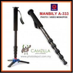 Manbily A-333 Camera Monopod,Portable Professional DSLR Monopod For Canon Nikon DSLR DV Lightweight Monopod