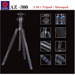 MANBILY AZ-300 Camera DSLR Professional portable travel tripod (MAX LOAD 15KG)