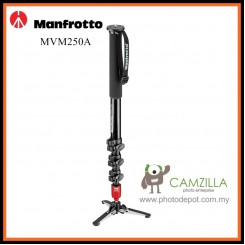 Manfrotto MVM250A Aluminum Fluid Photo Video Camera Monopod and Fluid Base