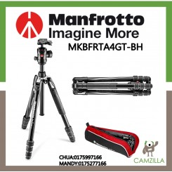MANFROTTO Befree GT Aluminum Tripod twist lock, ball head