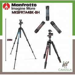 Manfrotto Befree Advanced Aluminum Travel Tripod twist blue, ball head Advanced Travel Tripod kit