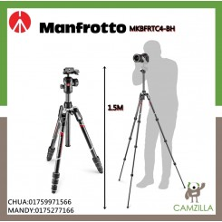 MANFROTTO Befree advanced Carbon Fiber Travel Tripod twist, ball head