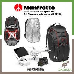 Manfrotto Aviator Drone Backpack for DJI Phantom, rain cover MB BP-D1