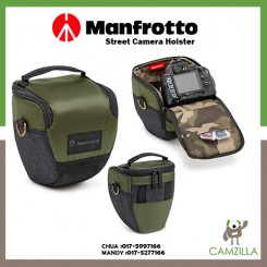 Manfrotto Street Camera Holster for DSLR's, top loading MB MS-H-IGR