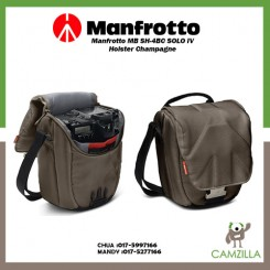 Manfrotto MB SH-4BC SOLO IV Holster Champagne
