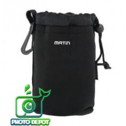 MATIN NEOPRENE SOFT CAMERA LENS POUCH CASE--SIZE: M