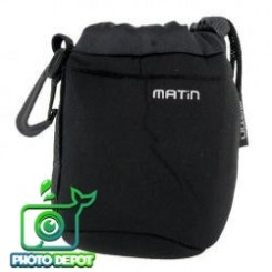 MATIN  NEOPRENE SOFT CAMERA LENS POUCH CASE--SIZE: S