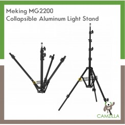 Meking Collapsible Aluminum Light Stand Tripod MG-2200 220cm/7.2ft Photo Studio