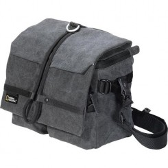 National Geographic W2140 Walkabout Midi Satchel (Gray)