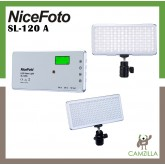 NiceFoto Bi-color Pocket LED Video Light SL-120A