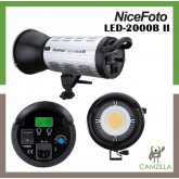 NiceFoto 200W daylight LED video light LED-2000B II