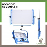 NiceFoto 200W Bi-color LED panel light SL-2000A II