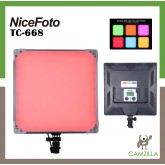 NiceFoto 50W Bi-color Ultra Soft LED video light SL-500A