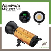 NiceFoto 200W Bi-color video light LED-2000A II