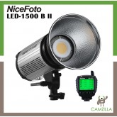 NiceFoto 200W daylight LED video light LED-1500B II