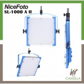 NiceFoto 100W Bi-color LED panel light SL-1000A II