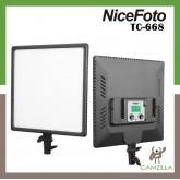 NiceFoto 50W Bi-color Ultra Soft LED video light SL-500A