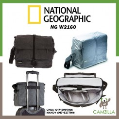 National Geographic NG W2160 Medium Satchel (Gray)