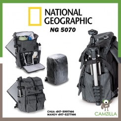 National Geographic NG W5070 Medium Rucksack (Gray)