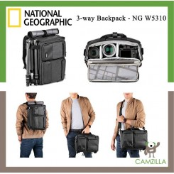 National Geographic Walkabout 3-way Dslr Camera Backpack