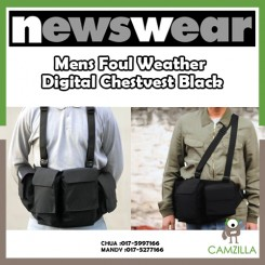 Newswear Mens Foul Weather Digital Chestvest